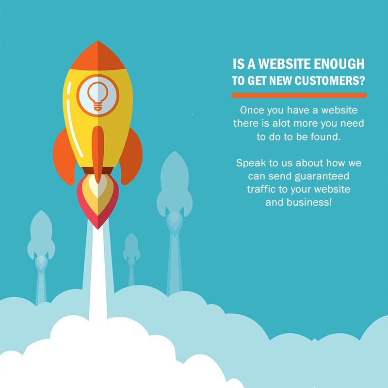 Is a Website enough to bring in more Customers?